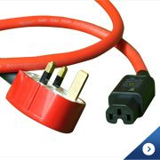 Ecosse The Big Red HC Mains Cable
