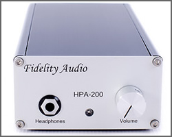 Fidelity Audio HPA 200 Headphone Amplifier